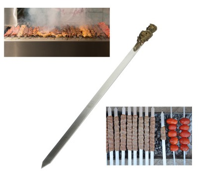 SZPADKA 60cm do mięsa warzyw KEBAB mosiężna rączka