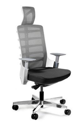 Spinelly Unikátny Biela otočná kancelárska stolička