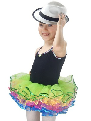SUKIENKA DO TAŃCA na taniec balet 2-3LAT USA sk523