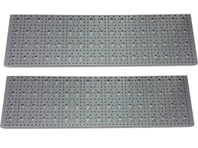 Box na náradie - PERFORATED PLATE SILVER 2-PCS TOOLBOARD
