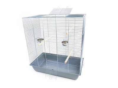 клетка мега 3 для ПТИЦЫ 70x40x78 - канарейка, попугай