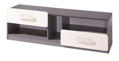 мебель LIDO журнальный столик, тумба RTV с ящиками Графит