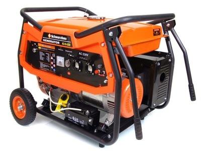 Приводимый в действие генераторная instagram AG-HA6500 генератор ELE-СТАРТ