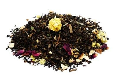 Pu-Erh SUNSET HARMONY herbata czerwona 50g Skworcu