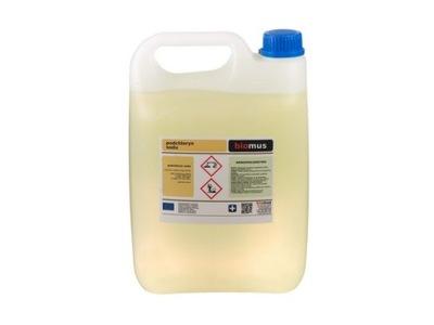 PODCHLORYN SODU chlor Dezynfekcja studni 5L BIOMUS