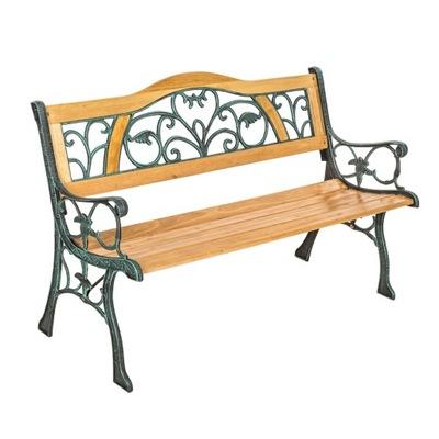 Záhradné lavice s żeliwnymi prvky 401426