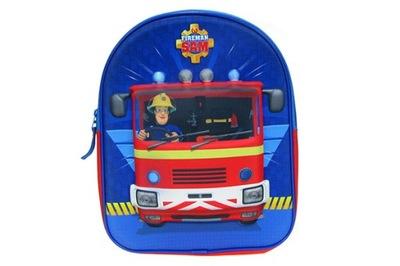 Školský batoh Batoh, detský batoh 3D HASIČ SAM 260429