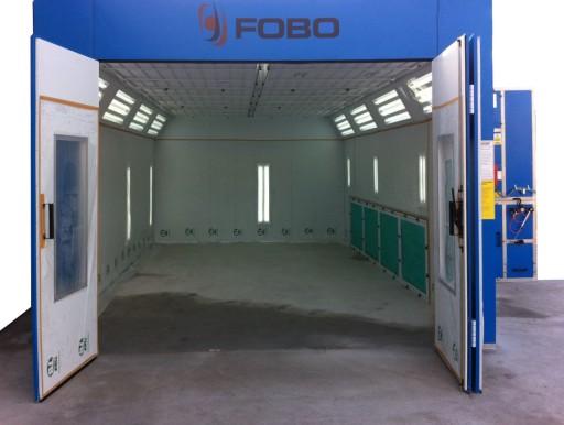 Tylko na zewnątrz Kabina Komora lakiernicza FOBO 2000E dla przemysłu 7442051003 TR72