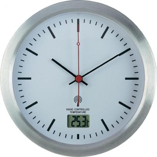 Zegar Do łazienki Sterowany Radiowo Dcf Alu