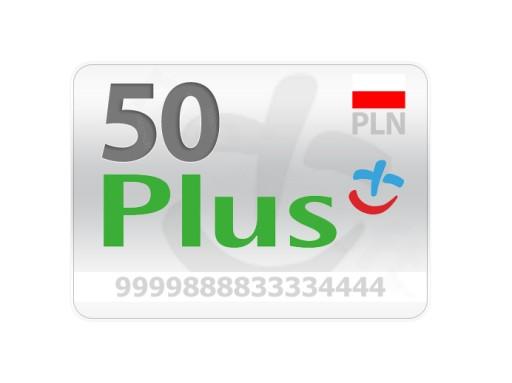 Doładowanie Plus 50 zł