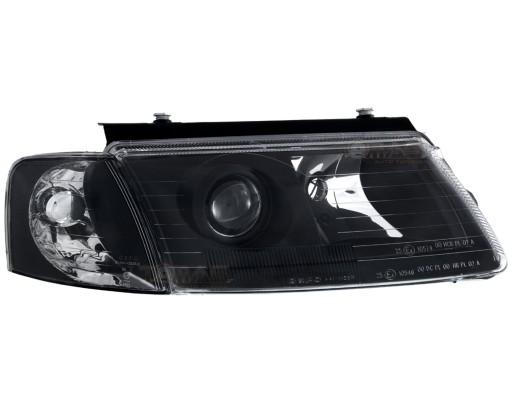 Lampy Przednie Volkswagen Passat B5 3b Black Depo