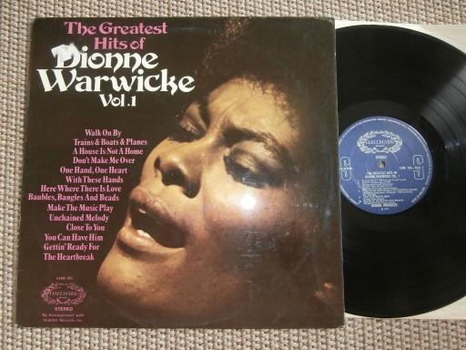 DIONNE WARWICKE The Greatest Hits Vol. 1