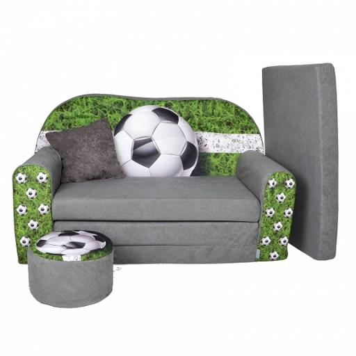 Sofa Kanapa łóżko Dla Dzieci Rozkładana Football