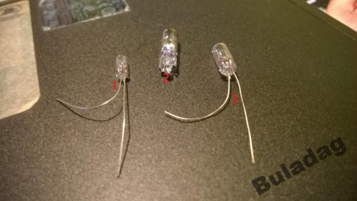 Żarówki podświetlenia zegarów Nissan Almera N16 de