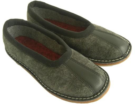 fd8193ba266b Bambosze kapcie papcie ciapy pantofle szerokie 43 6684278227 ...