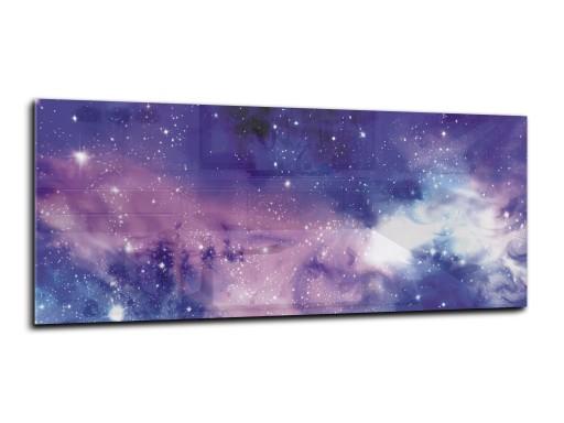 panel szklany między meble dekor 150x60 kosmos