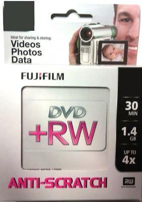 10szt DVD+RW Mini 8cm 30min FUJI 1.4GB WaWa PROMO!