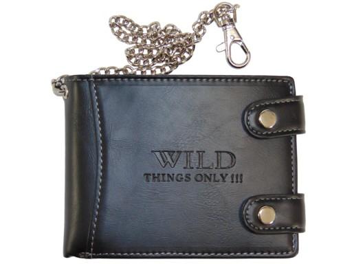 728dcb59390f0 Duży pojemny portfel męski na łańcuszek 2 kolory 6846890683 - Allegro.pl