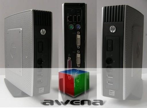 Terminal HP T5550 ThinClient 1G/512M/1G GWAR fVAT
