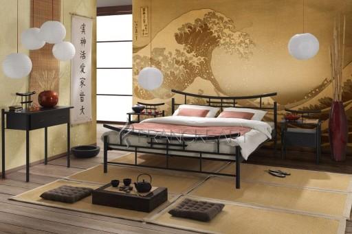 Łóżko metalowe 140x200 SEKO Producent