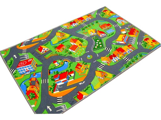 Dywan Drogi Wieś Ulice Miasto Farma Cars 150x200 6638836367 Allegropl