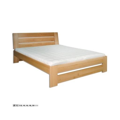 łóżko Bukowe Sypialnia Lite Drewno Lk 192 160x200