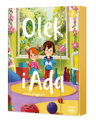 ОЛЕК И АДА трехлетний ребенок 3-х лет Уровень А Пакет BOX MAC