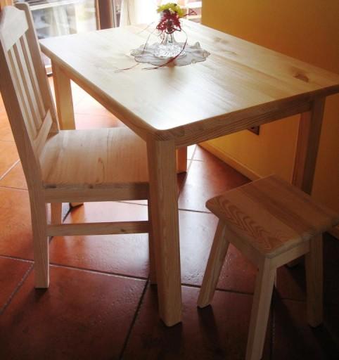 Masywny Stol Kuchenny 70x50 Kuchnia Jadalnia Bar 5949189352 Allegro Pl