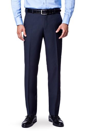 Spodnie Męsk Granat Lancerto Business Mix 182/82 10433430122 Odzież Męska Spodnie OM JNVFOM-3