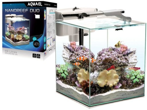 Nano Reef Duo Led Akwarium Morskie Kpl 49l Aquael