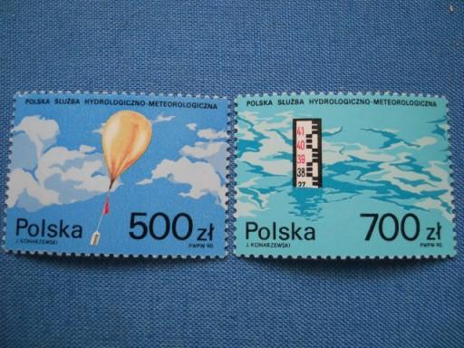 Polska - Służba hydrologiczna - Fi. 3127-28 **