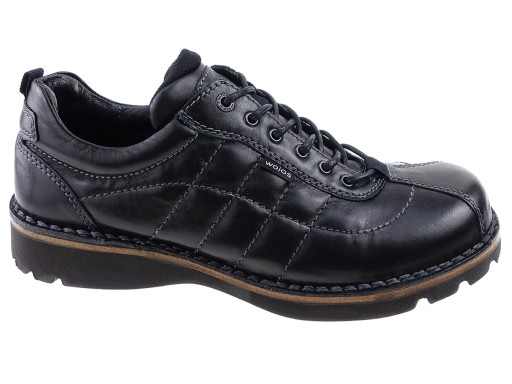16e82039 WOJAS buty komfort 7206-41 czarny SKÓRA 43 6695722972 - Allegro.pl