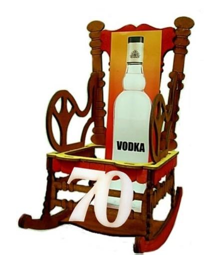 512b4a0bb47add Stojak Barek Fotel bujany prezent 70 Urodziny 70 + 6864977917 ...