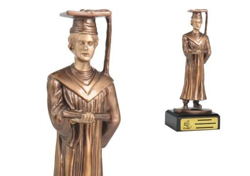 Piękna Statuetka - DLA NAUCZYCIELA, ABSOLWENTA