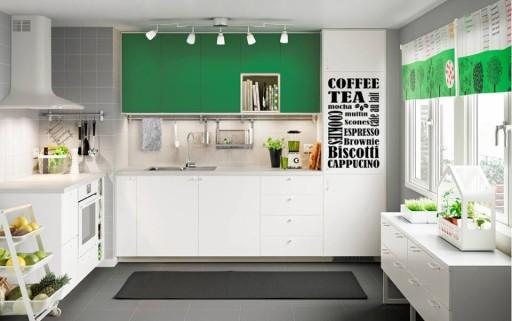 Naklejki ścienne ścianę Do Kuchni Kawa Napisy