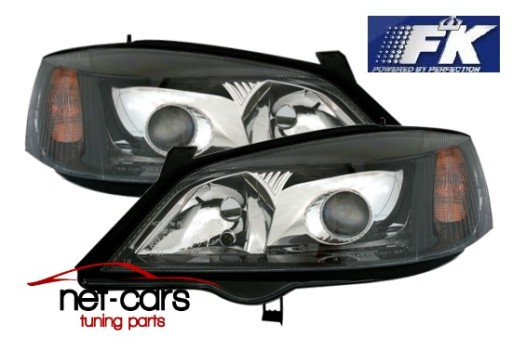 Lampy Reflektory Fk Opel Astra G Xenon D2s H7 Wroclaw Allegro Pl