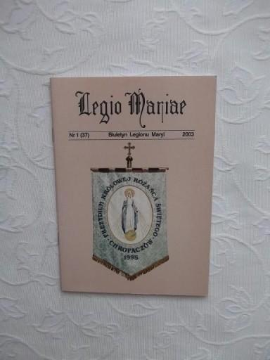 BIULETYN LEGIONU MARYI CHROPACZÓW /RELIGIA WIARA