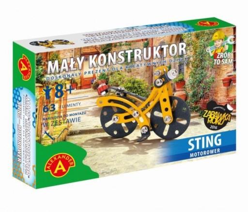 Mały Konstruktor - MOTOROWER STING Alexander