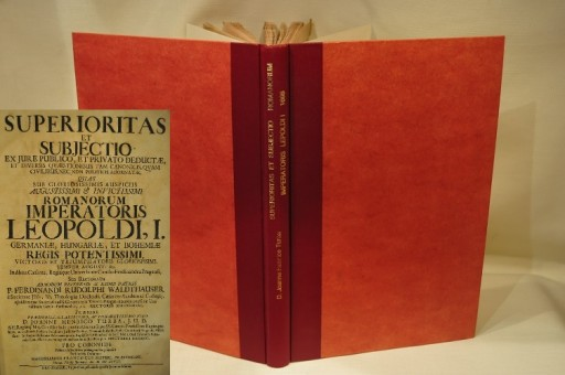 1698 SUPERIORITAS ET SUBJECTIO LEOPOLDI I / FOLIO