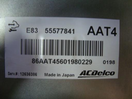 Sterownik komputer AAT4 Opel Corsa D 1.4 Benzyna
