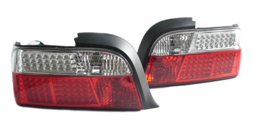 Bmw E36 Coupe Lampy Tylne Lampa Tył Led Clear Nowy
