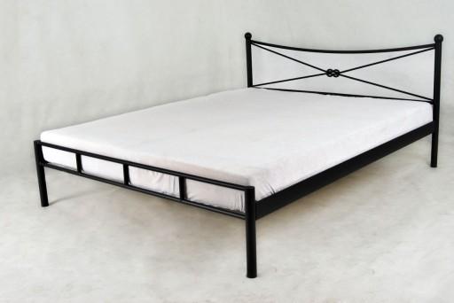 łóżko Metalowe Kute Mika 160x200 Producent