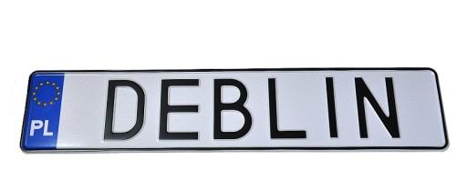 Polskie Tablice Kolekcjonerskie Hologram Deblin Allegro Pl
