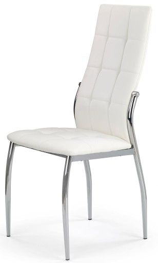 Tapicerowane Krzesło Kuchnia Jadalnia Białe