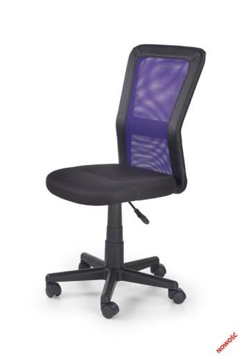 Fotel Cosmo krzesło do biurka kolor Fioletowy HIT 188 zł