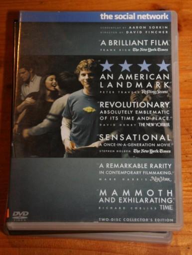 SOCIAL NETWORK      DVD  WYDANIE DWUPŁYTOWE