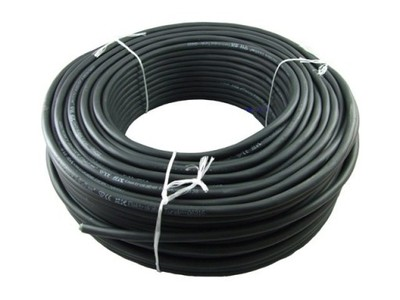 Przewód kabel OW 3x4 guma 300/500V 0241