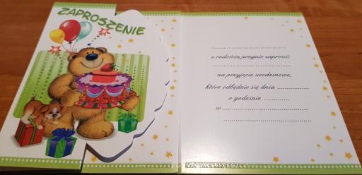 Zaproszenia Na Urodziny Dziecka 7390594913 Allegropl