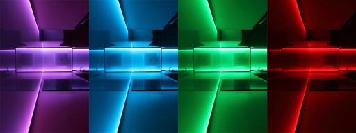 ZESTAW Mi-Light taśma LED RGBW IP65 + biały 15m