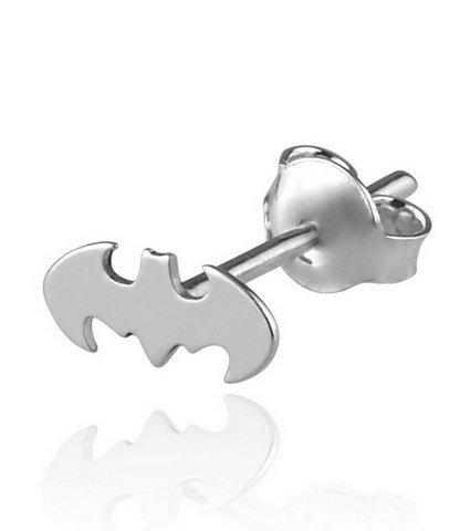 Kolczyk Meski Srebrny Batman Stal 316 L 6497909974 Allegro Pl